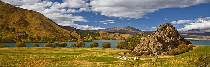 Lake Waitaki, see more, learn more, at New Zealand Journeys app for iPad www.gopix.co.nz