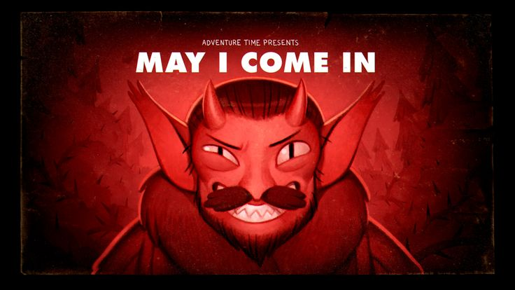May I Come In (Stakes Pt. 5) - title carddesigned and painted by Joy Angpremieres Wednesday, November 18th at 8/7c on Cartoon Network