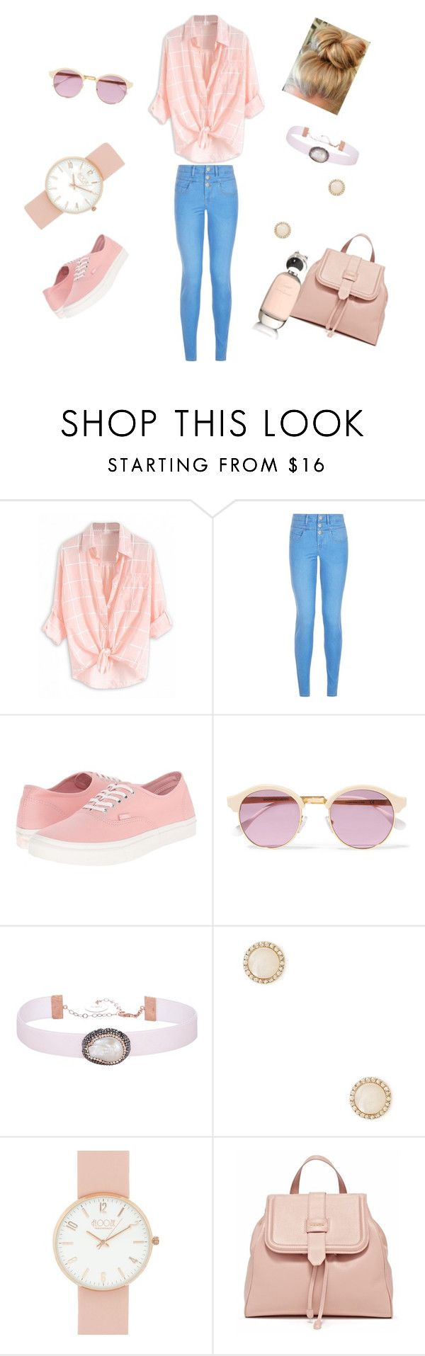 """Very casual Look"" by fashion-1933 ❤ liked on Polyvore featuring New Look, Vans, Sheriff&Cherry, Soru Jewellery, Forever 21 and Comme des Garçons"