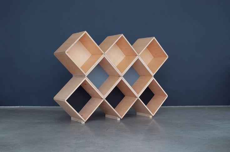 Nomad | No45x Bookcase - 8 modules
