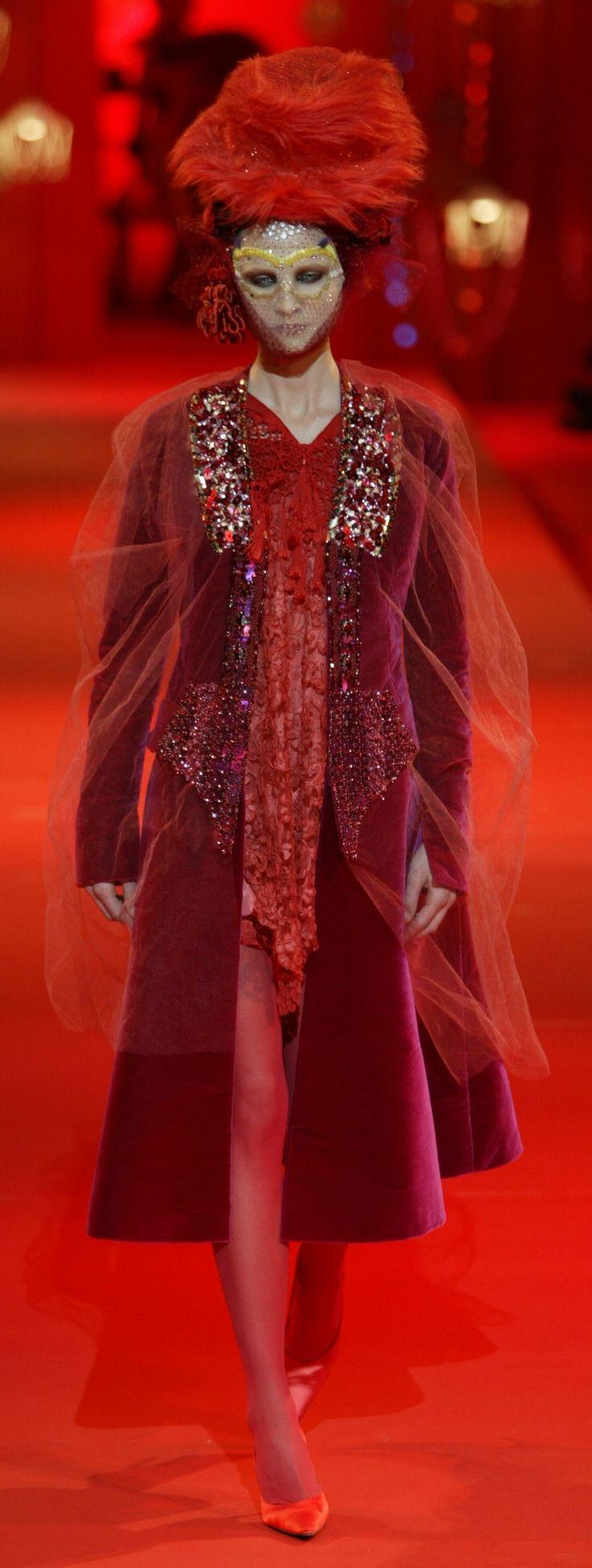 ~Christian Lacroix Haute Couture Fall-Winter 2002