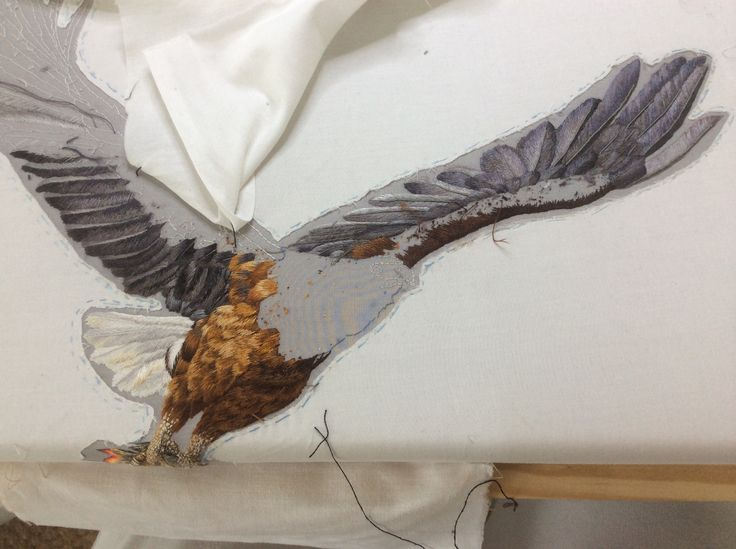 Fisheagle wing in process