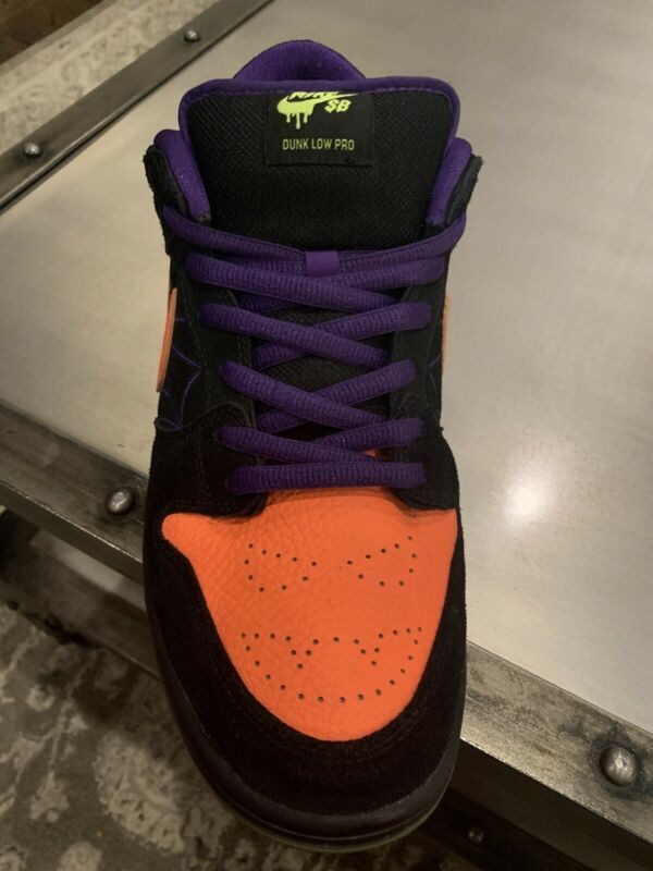 Nike Sb Dunk Low Night Of Mischief Halloween Bq6817 Men Size 13 Athletic Shoes Ebay Link