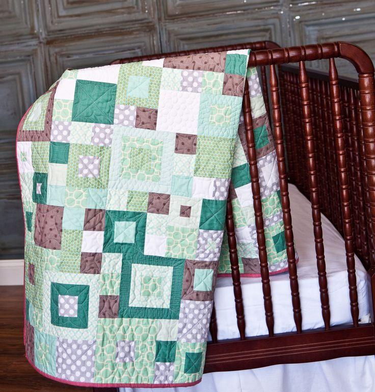 Modern Nursery Quilt Patterns : 571 best QUILTS: Babies through Teens images on Pinterest Quilting ideas, Babies and Modern ...
