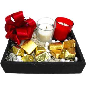 Chocolates N Candles Tray This Christmas give your close ones something special. Rs 849/- http://www.tajonline.com/gifts-to-india/gifts-X1448.html?aff=pint2014/