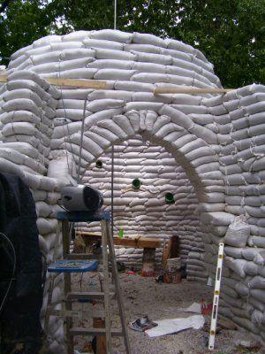 Earthbag Building: Kentucky Home