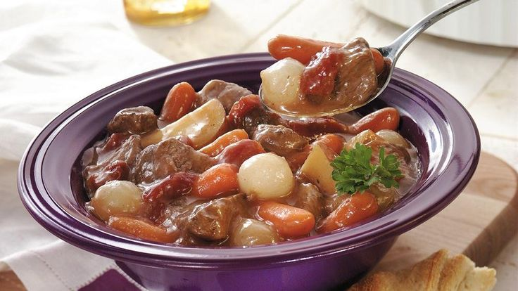 Slow-Cooked Family-Favorite Beef Stew | Recipe | Gravy ...