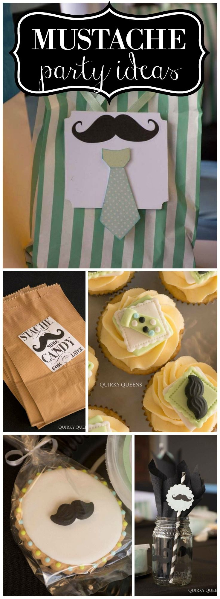 Love this little man mustache 1st birthday party! See more party ideas at CatchMyParty.com!