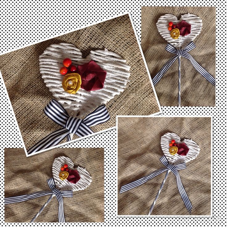 Handmade bespoke flowergirl wand from Lilly Dilly's #wedding #flowergirl #autumn #boho #rustic #stripe #flower #handmade #unique #bespoke