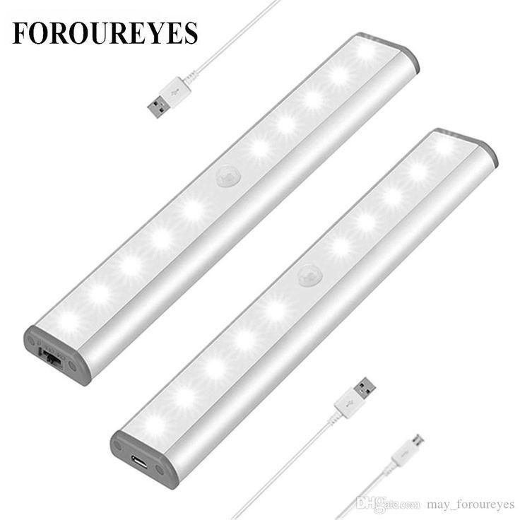 Acheter Motion Sensor Night Light 10 LED Potable Closet