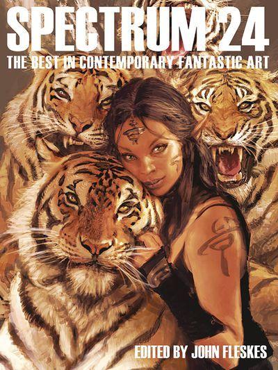 Spectrum Art Book HC Vol 24 #art #book #fantasy