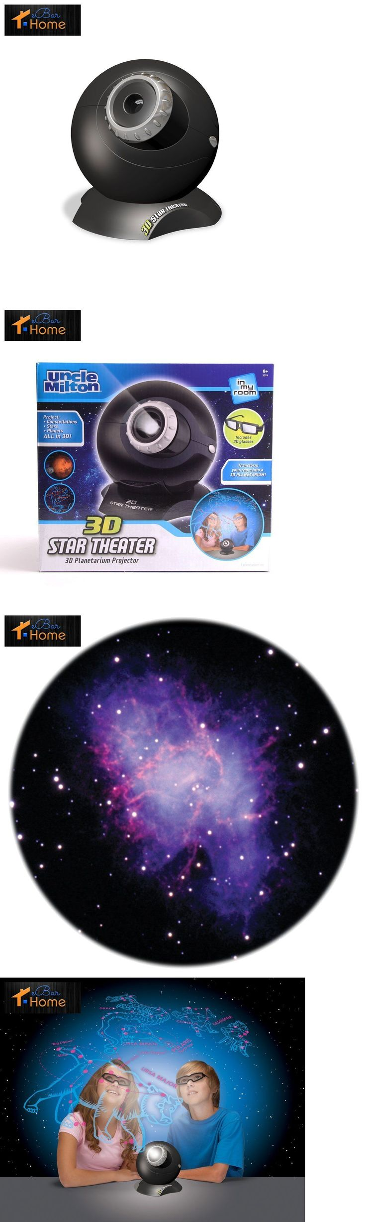 Star projector lamp ebay - Telescopes And Astronomy 31745 In My Room 3d Star Theater Tabletop Planetarium Light Projector