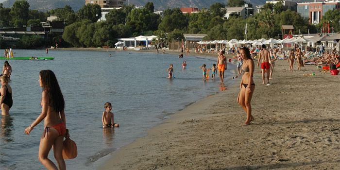 Пляж в Глифаде