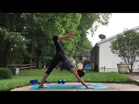 23-Minute Post-Run Yoga Flow - YouTube