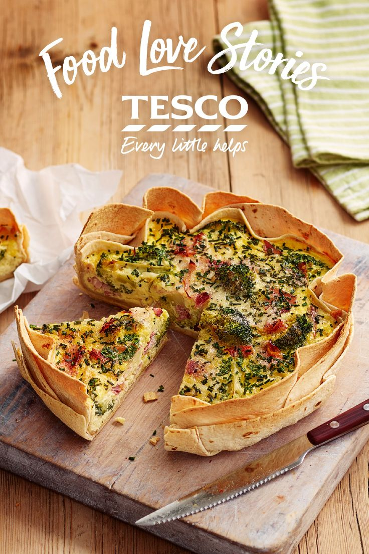 Try something new with your quiche recipe - why not copy 'Elena' and swap out the pastry for tortilla wraps? | Tesco