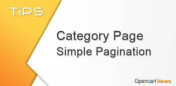 Category Page Simple Pagination