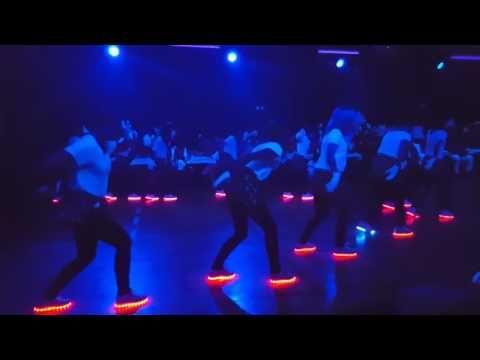 LED Schuhe Tanz Choreographie   dance shoe light Fasching Dachwig