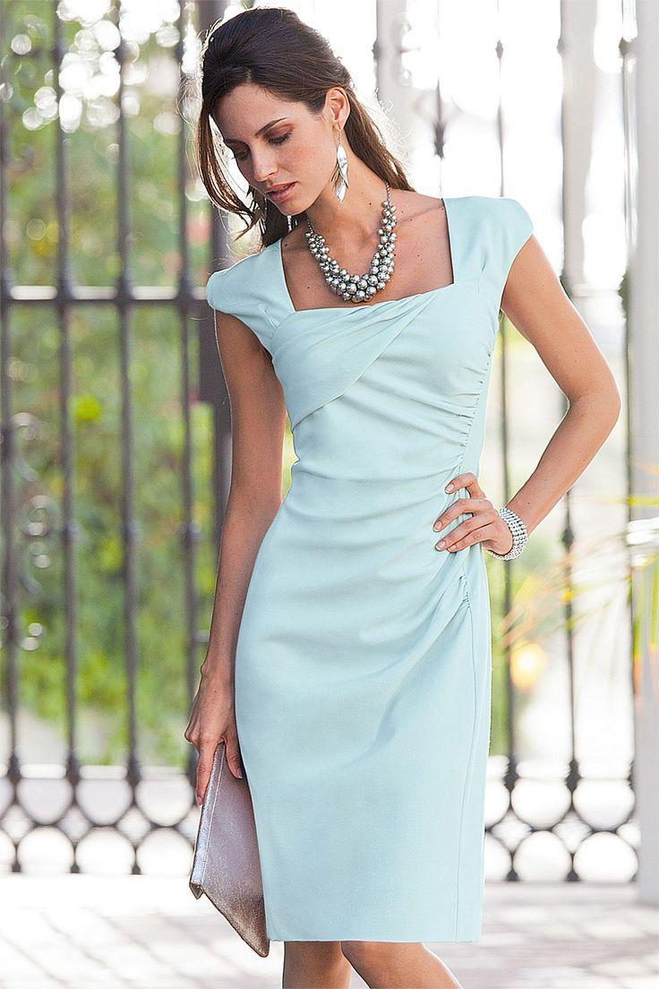 54 besten Kleider Bilder auf Pinterest | Feminine mode, Arbeits ...