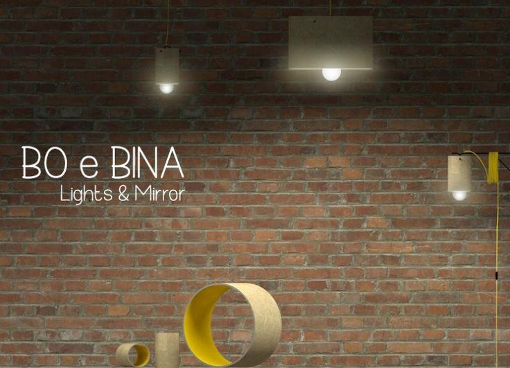 Formabilio - Bo & Bina lampade / progetto inviato da Rachele Biancalani. Ti piace? VOTA L'IDEA QUI https://it.formabilio.com/progetto-concorso/bo-bina-lampsmirror-13422