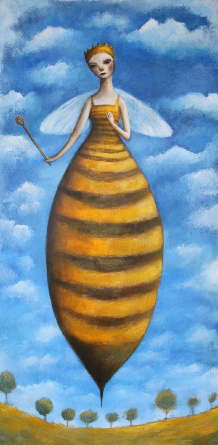 Queen of the Hive by Felicia Olin