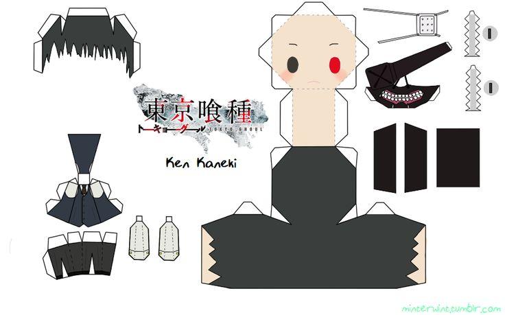 Template - Tokyo Ghoul - Kaneki by Verloria on DeviantArt