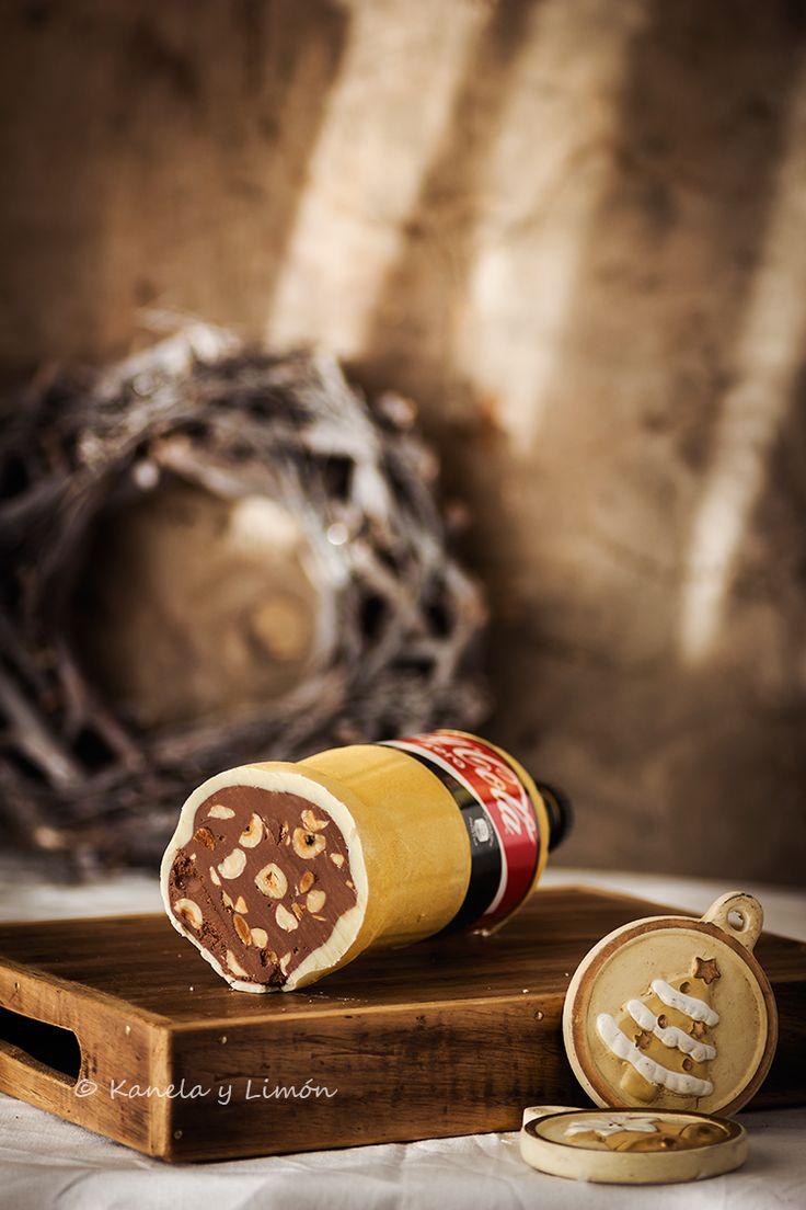 Turrón de chocolate blanco y nutella