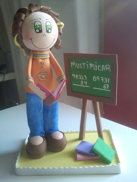 Creaciones Naxi: Fofucha Maestra