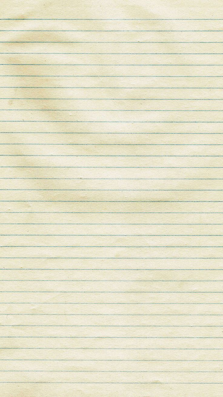 Notebook paper. Collection of Texture Backgrounds for iPhone - @mobile9 #texture #materials