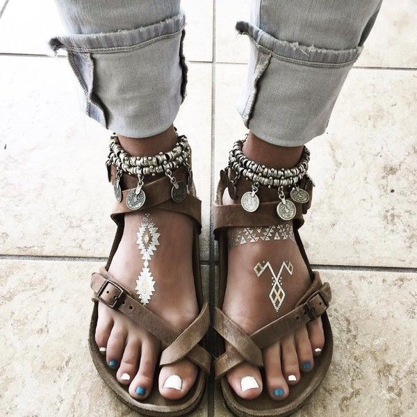 shoes brown leather sandals