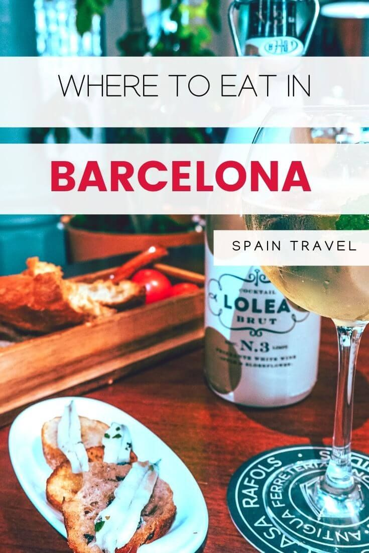 22 Best Restaurants In Barcelona Where To Eat In Barcelona In 2020 Foodie Travel Barcelona Guide Travel Food