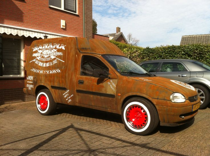 Opel Combo Ratlook Made By Www Ratlooks Nl Ratlooks
