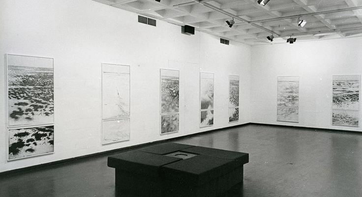 Ian McKeever ~ Fields, Waterfalls and Birds, Arnolfini, Bristol, 1980