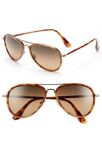 Maui Jim 'Honomanu' 57mm Polarized Sunglasses available at #Nordstrom