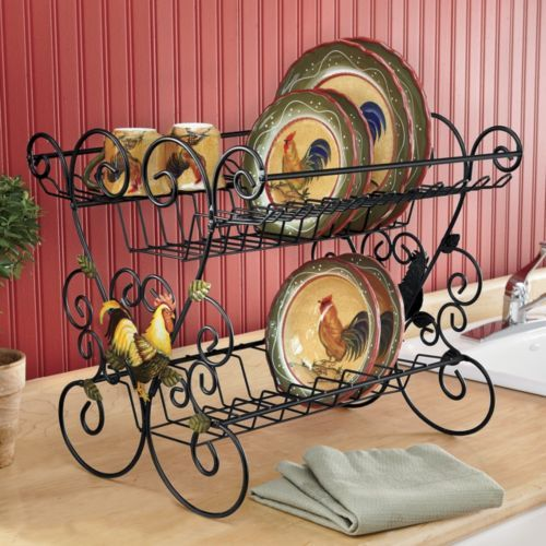 Dish Drainer, Rooster from Seventh Avenue ®