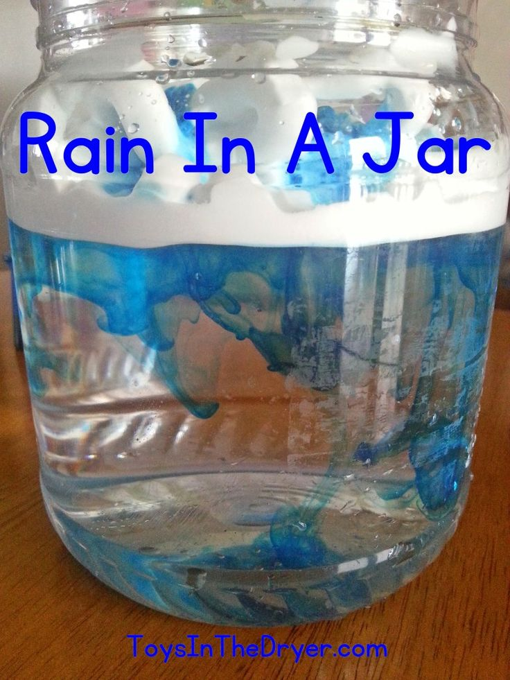 How To Make A Storm In A Jar