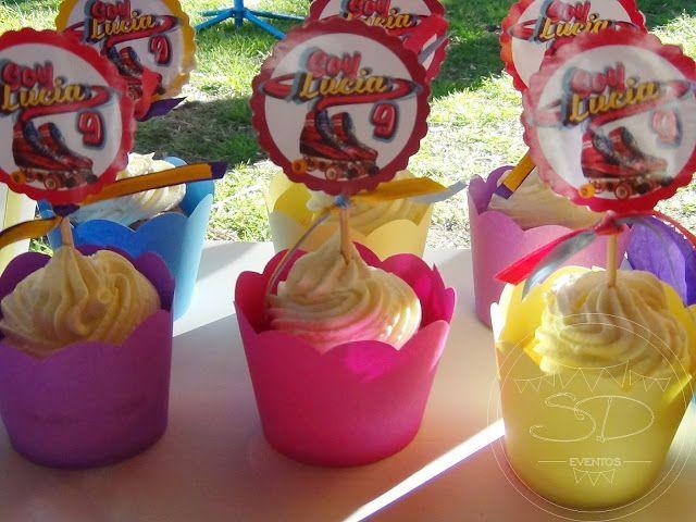 SD Eventos: SOY LUNA PARA LUCY!! Candy Bar Soy Luna Mesa dulce Soy Luna Sweet table Soy Luna Cupcakes Soy Luna