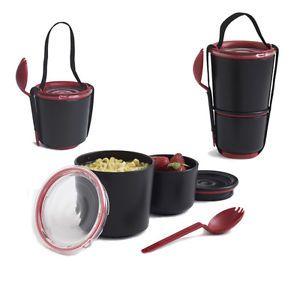 Black & Red Lunch Pot by Black & Blum | eBay
