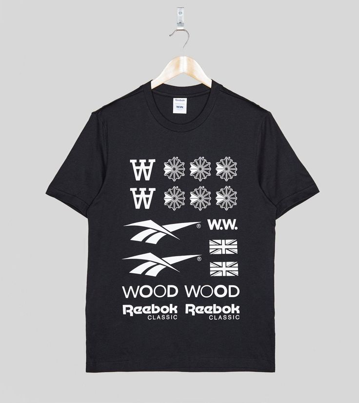Reebok x Wood Wood T-Shirt - find out more on our site. Find the freshest in trainers and clothing online now.