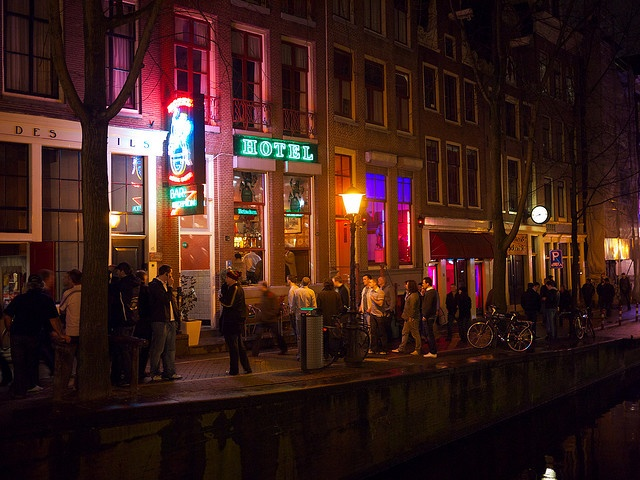 Rosse Buurt, Amsterdam, NETHERLANDS.