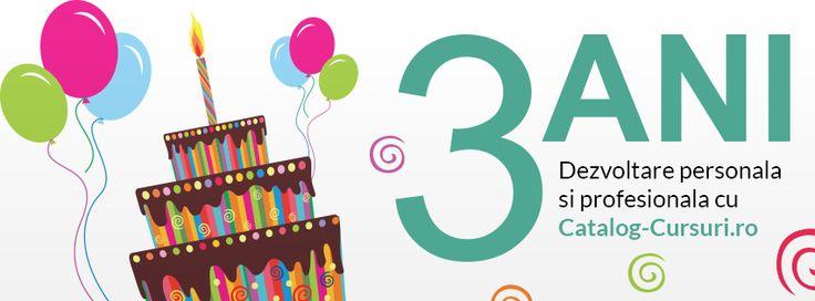 In 3 ani Catalog-Cursuri.ro a ajuns cel mai mare site de cursuri si dezvoltare personala din Romania http://www.catalog-cursuri.ro/Articol-In_3_ani_Catalog_Cursuriro_a_ajuns_cel_mai_mare_site_de_cursuri_si_dezvoltare_personala_din_Romania_-Resursa-663.html