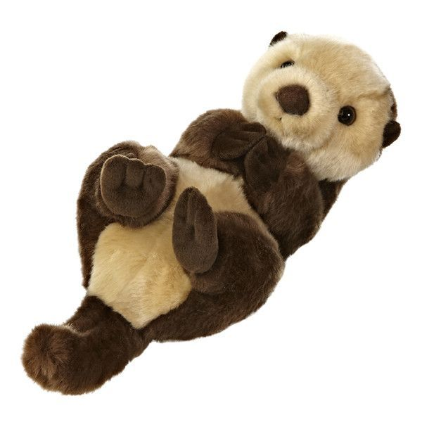 "10"" SEA OTTER Part of the Miyoni collection - plush animals made with the finest quality, exceptional detail and super soft to the touch! Fine quality, exceptional detail and soft to the touch, Aurora                                                                                                                                                                                 More"