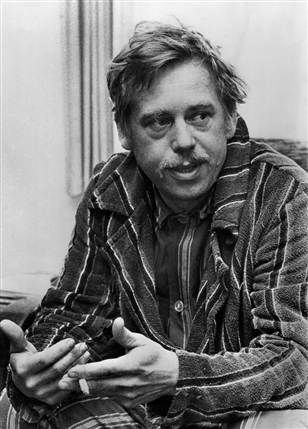 Vaclav Havel.  Intellectual, stagehand, actor, playwright, dissident, political prisoner, President of Czechoslovakia.