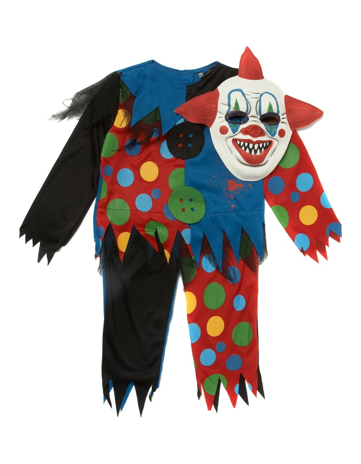 8 best scary clown images on pinterest scary clowns halloween halloween costumes for boys scary - Halloween Scary Costumes For Boys