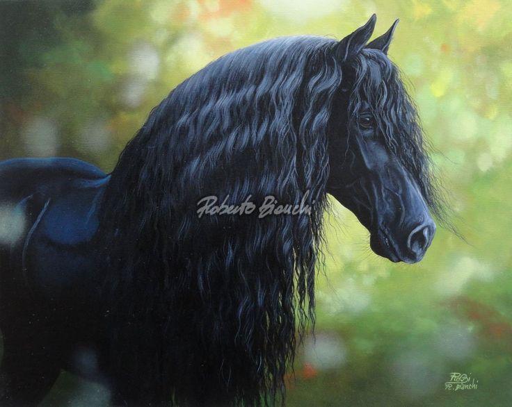 Top Oltre 25 fantastiche idee su Cavallo frisone su Pinterest  ZG09