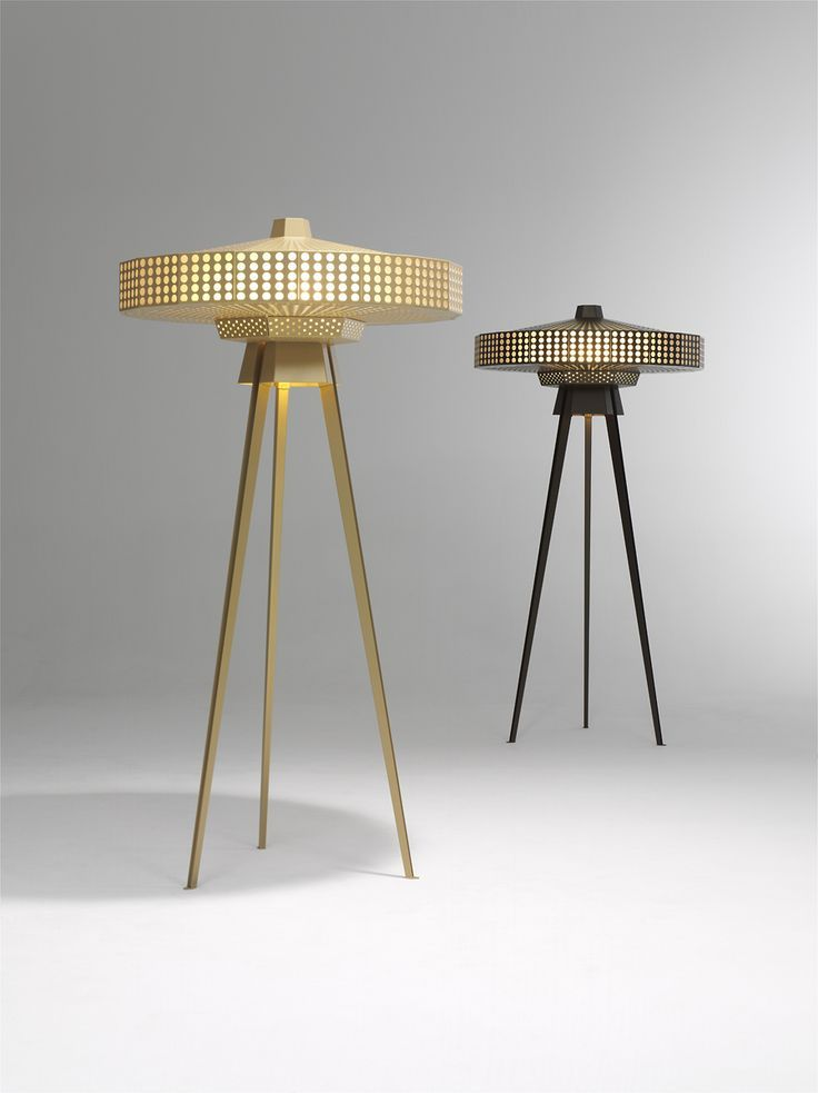 'YUKIKO' Standing Lamp. Design: Roderick Vos / Studio Roderick Vos. Claire Vos and Roderick Vos.