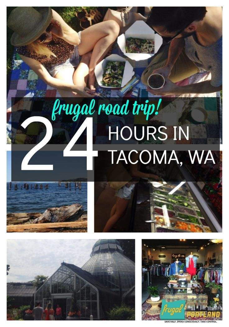 Jump in the car and head north from Portland about 130 miles. Here are some fun things to do while you're in Tacoma, WA.