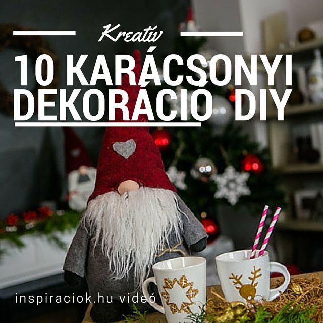 10 kedvenc karácsonyi dekorációm