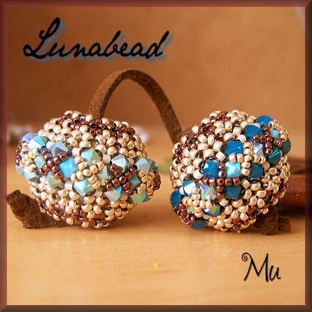 Lunabead - beaded bead