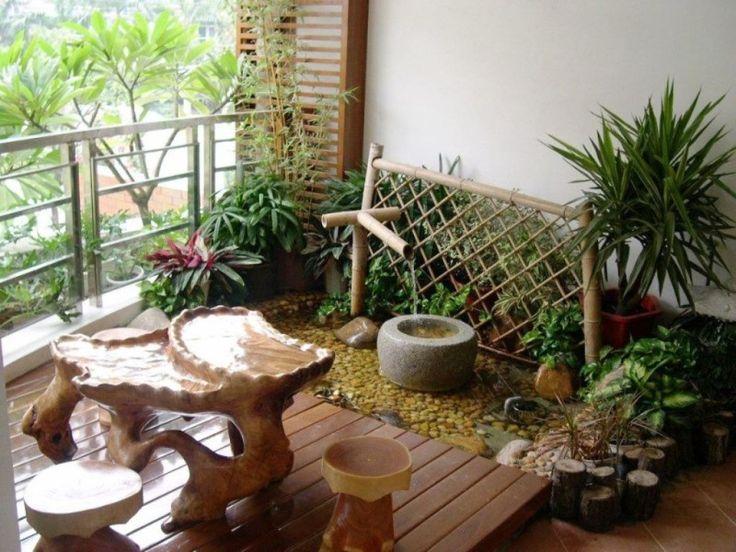 Marvelous Balcony Garden Design