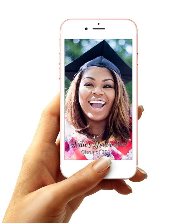 |PRODUCT INFO|  This listing is for a Digital Custom Graduation Snapchat Geofilter, which can be used during your Commencement events.  The file will be created accordingly to the Snapchat Submission Guidelines: https://geofilters.snapchat.com/submission-guidelines  |DETAILS|  Before-  During purchase, in the sellers notes, please provide preference for color, name, and year.  Within 24 hours you will be provided with a proof to your email account and asked if you would like a...